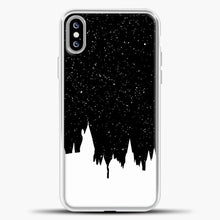 Load image into Gallery viewer, Harry Potter Silhouette Image iPhone XS Max Case, White Plastic Case | casedilegna.com
