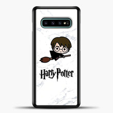 Load image into Gallery viewer, Harry Potter Spider Background Samsung Galaxy S10e Case, Black Plastic Case | casedilegna.com