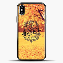 Load image into Gallery viewer, Harry Potter Under Tree iPhone XS Max Case, Black Plastic Case | casedilegna.com