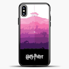 Load image into Gallery viewer, Harry Potter Volcano Eruption iPhone XS Max Case, Black Plastic Case | casedilegna.com