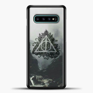 Harry Potter Water Flow Samsung Galaxy S10e Case, Black Plastic Case | casedilegna.com