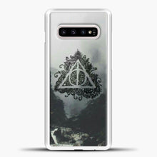 Load image into Gallery viewer, Harry Potter Water Flow Samsung Galaxy S10e Case, White Plastic Case | casedilegna.com