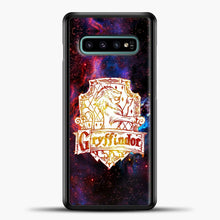 Load image into Gallery viewer, Harry Potter White Galaxy Background Samsung Galaxy S10e Case, Black Plastic Case | casedilegna.com