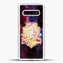 Load image into Gallery viewer, Harry Potter White Galaxy Background Samsung Galaxy S10e Case, White Plastic Case | casedilegna.com