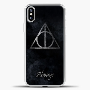 Harry Potter White Smoke iPhone XS Max Case, White Plastic Case | casedilegna.com