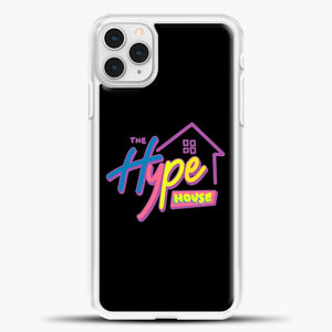 Hype House Black Wallpaper iPhone 11 Pro Case, White Plastic Case | casedilegna.com