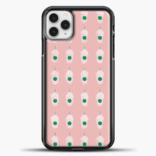 Load image into Gallery viewer, Hype House Drink Pattern iPhone 11 Pro Case, Black Plastic Case | casedilegna.com