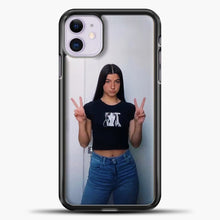 Load image into Gallery viewer, Hype House Women iPhone 11 Case, Black Plastic Case | casedilegna.com