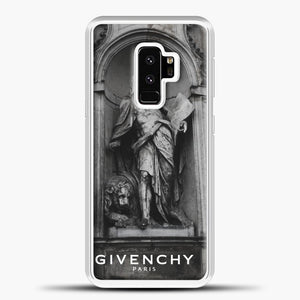 Hypebeast THE MONUMENT STATUE Samsung Galaxy S9 Plus Black.jpg, White Plastic Case | casedilegna.com