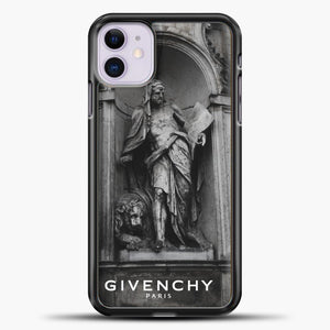 Hypebeast THE MONUMENT STATUE iPhone 11 Black.jpg, Black Plastic Case | casedilegna.com