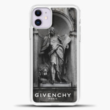 Load image into Gallery viewer, Hypebeast THE MONUMENT STATUE iPhone 11 Black.jpg, White Plastic Case | casedilegna.com