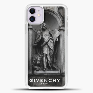 Hypebeast THE MONUMENT STATUE iPhone 11 Black.jpg, White Plastic Case | casedilegna.com