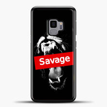 Load image into Gallery viewer, Im A Savage Canine Tooth Samsung Galaxy S9 Case