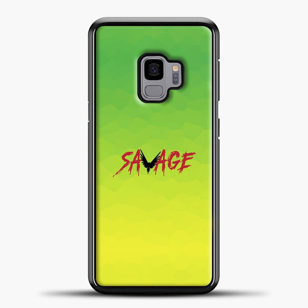 Im A Savage Green Background Samsung Galaxy S9 Case