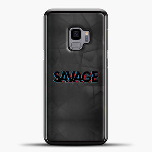 Im A Savage Grey Triangle Background Samsung Galaxy S9 Case