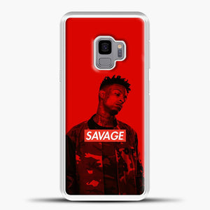 Im A Savage Red Background Samsung Galaxy S9 Case