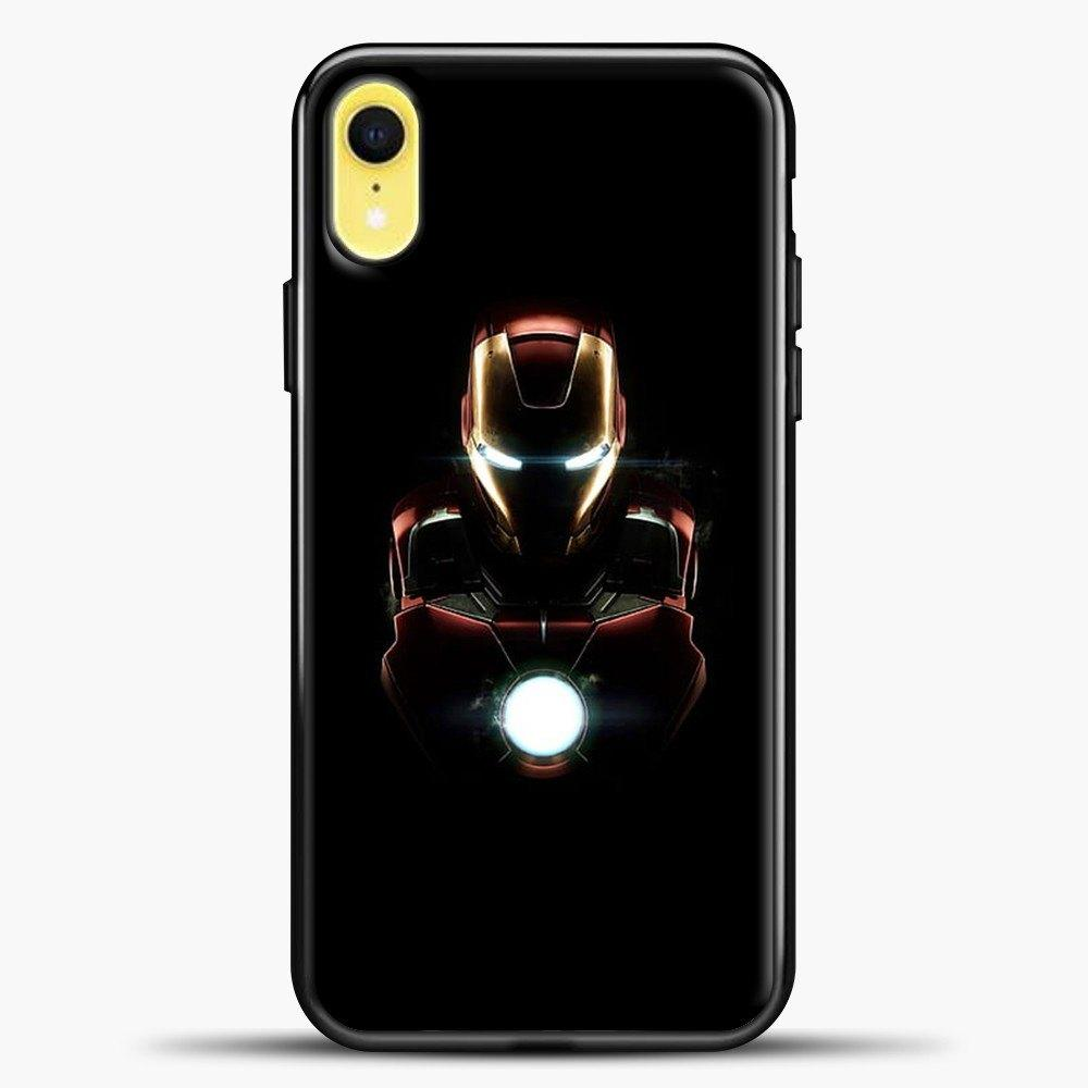 Iron Man Armor Mark iPhone XR Case, Black Plastic Case | casedilegna.com