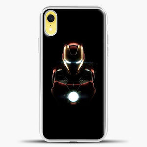 Iron Man Armor Mark iPhone XR Case, White Plastic Case | casedilegna.com