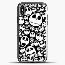 Load image into Gallery viewer, Jack Skellington Pattern iPhone XS Case