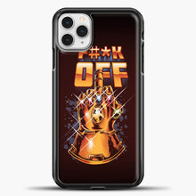 Load image into Gallery viewer, Lets Rock iPhone 11 Pro Case, Black Plastic Case | casedilegna.com