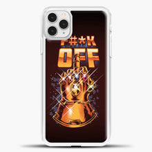 Load image into Gallery viewer, Lets Rock iPhone 11 Pro Case, White Plastic Case | casedilegna.com