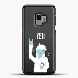 Lil Yeti And Bigfoot Samsung Galaxy S9 Case, Black Plastic Case | casedilegna.com
