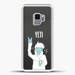 Lil Yeti And Bigfoot Samsung Galaxy S9 Case, White Plastic Case | casedilegna.com