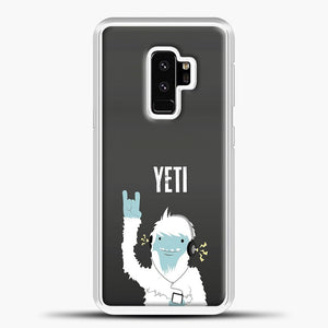 Lil Yeti And Bigfoot Samsung Galaxy S9 Plus Case, White Plastic Case | casedilegna.com