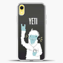 Load image into Gallery viewer, Lil Yeti And Bigfoot iPhone XR Case, White Plastic Case | casedilegna.com