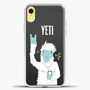 Lil Yeti And Bigfoot iPhone XR Case, White Plastic Case | casedilegna.com