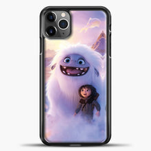 Load image into Gallery viewer, Lil Yeti And Boy Clouds iPhone 11 Pro Max Case, Black Plastic Case | casedilegna.com