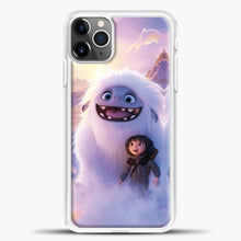 Load image into Gallery viewer, Lil Yeti And Boy Clouds iPhone 11 Pro Max Case, White Plastic Case | casedilegna.com