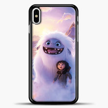 Load image into Gallery viewer, Lil Yeti And Boy Clouds iPhone X Case, Black Plastic Case | casedilegna.com