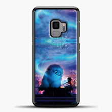 Load image into Gallery viewer, Lil Yeti Blue Light Samsung Galaxy S9 Case, Black Plastic Case | casedilegna.com