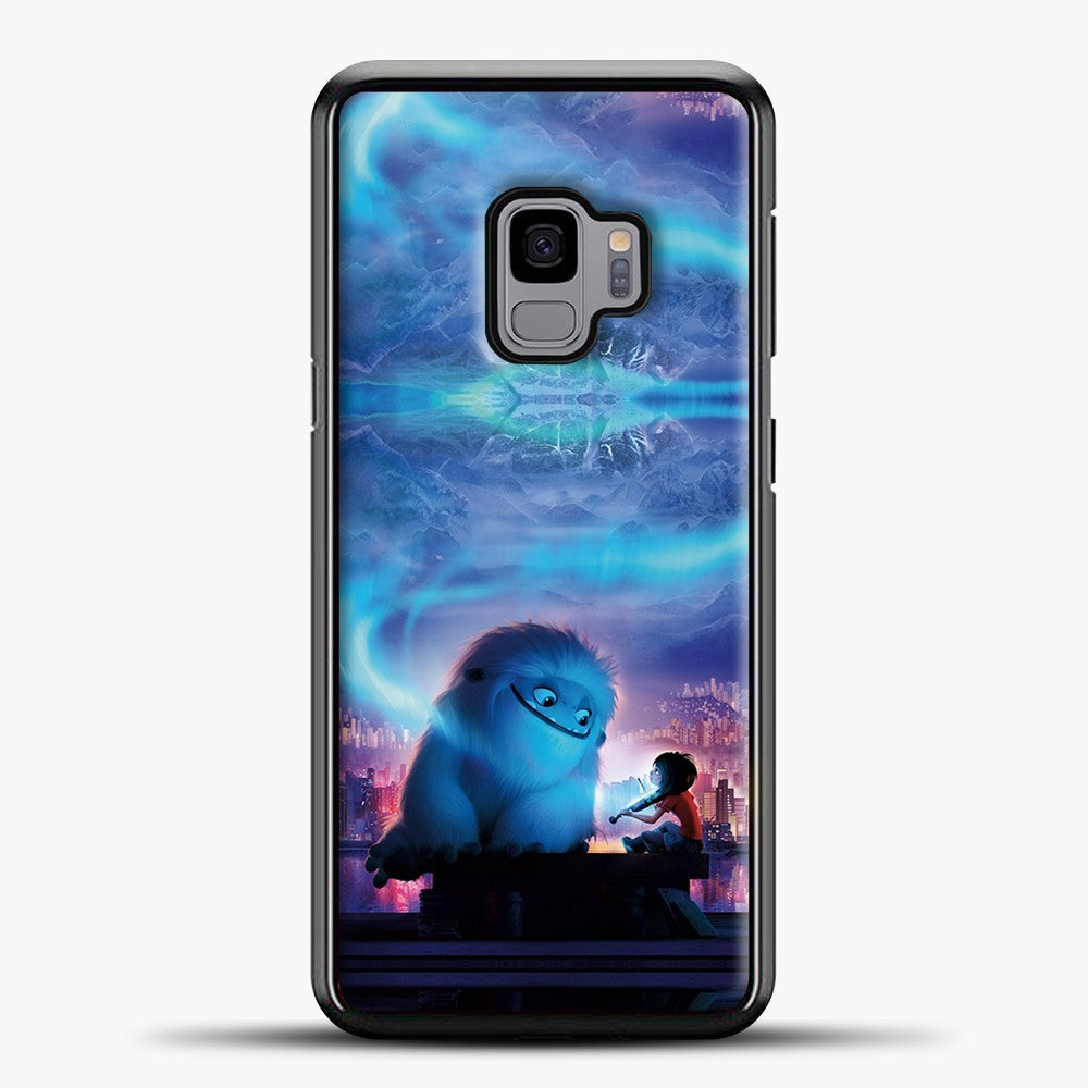 Lil Yeti Blue Light Samsung Galaxy S9 Case, Black Plastic Case | casedilegna.com
