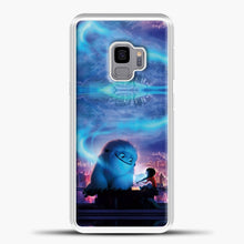 Load image into Gallery viewer, Lil Yeti Blue Light Samsung Galaxy S9 Case, White Plastic Case | casedilegna.com