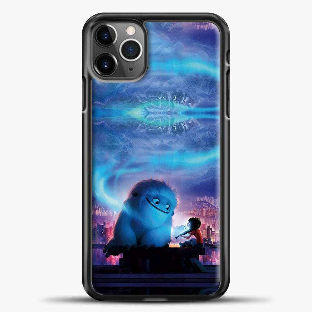 Lil Yeti Blue Light iPhone 11 Pro Max Case, Black Plastic Case | casedilegna.com