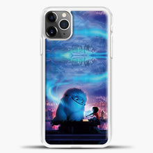 Load image into Gallery viewer, Lil Yeti Blue Light iPhone 11 Pro Max Case, White Plastic Case | casedilegna.com