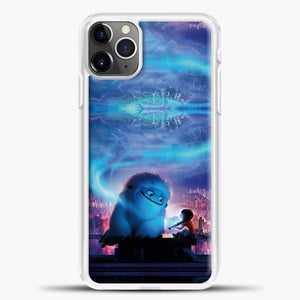 Lil Yeti Blue Light iPhone 11 Pro Max Case, White Plastic Case | casedilegna.com