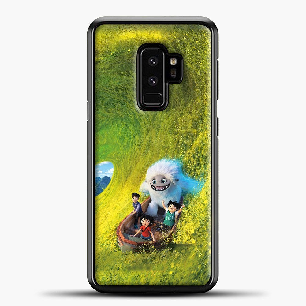 Lil Yeti Have Fun On The Boat Samsung Galaxy S9 Plus Case, Black Plastic Case | casedilegna.com