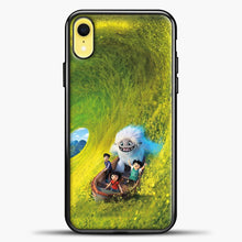 Load image into Gallery viewer, Lil Yeti Have Fun On The Boat iPhone XR Case, Black Plastic Case | casedilegna.com