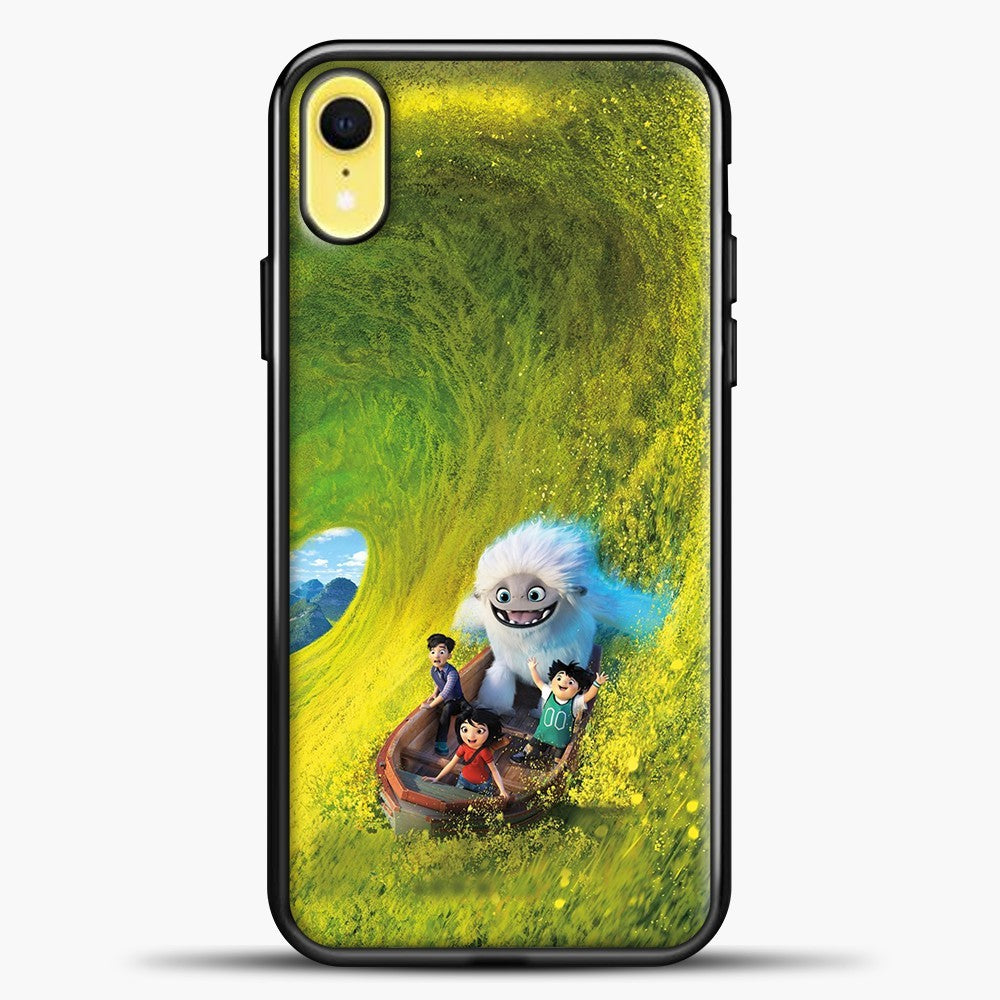 Lil Yeti Have Fun On The Boat iPhone XR Case, Black Plastic Case | casedilegna.com