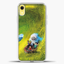 Load image into Gallery viewer, Lil Yeti Have Fun On The Boat iPhone XR Case, White Plastic Case | casedilegna.com