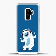 Load image into Gallery viewer, Lil Yeti Listening To Music Samsung Galaxy S9 Plus Case, White Plastic Case | casedilegna.com