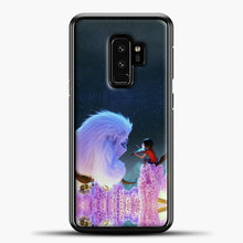 Load image into Gallery viewer, Lil Yeti On The Branch Samsung Galaxy S9 Plus Case, Black Plastic Case | casedilegna.com