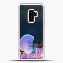 Load image into Gallery viewer, Lil Yeti On The Branch Samsung Galaxy S9 Plus Case, White Plastic Case | casedilegna.com