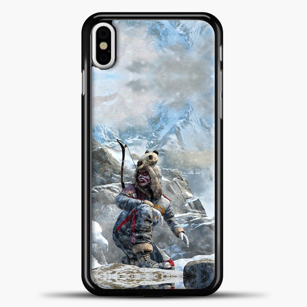 Lil Yeti On The Montain iPhone X Case, Black Plastic Case | casedilegna.com