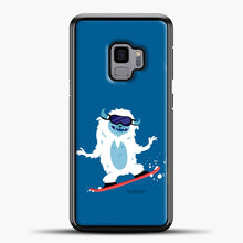 Load image into Gallery viewer, Lil Yeti Play Skateboard Samsung Galaxy S9 Case, Black Plastic Case | casedilegna.com