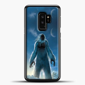 Lil Yeti Satanding On The Snow Samsung Galaxy S9 Plus Case, Black Plastic Case | casedilegna.com