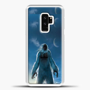 Lil Yeti Satanding On The Snow Samsung Galaxy S9 Plus Case, White Plastic Case | casedilegna.com